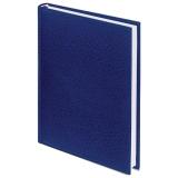 ЕЖЕДНЕВНИК BRAUBERG НЕДАТИР,А5 138*213мм, 160л, синий